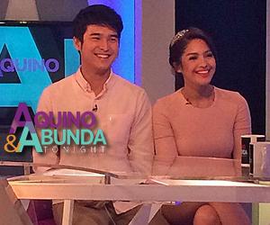 PHOTOS: Jane and Jerome Ponce on Aquino & Abunda Tonight