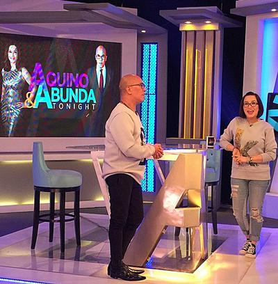 PHOTOS: Venus Raj on Aquino & Abunda Tonight