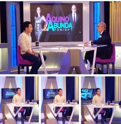 Marlo Mortel on Aquino & Abunda Tonight