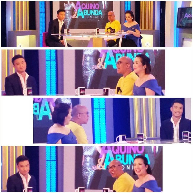 Edgar Allan Guzman on Aquino & Abunda Tonight