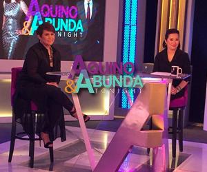 PHOTOS: Aquino with De Belen Tonight