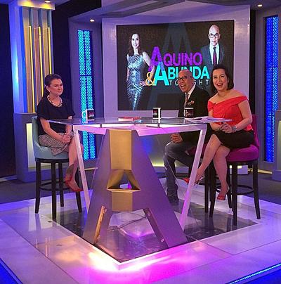 PHOTOS: Angelica Panganiban on Aquino & Abunda Tonight