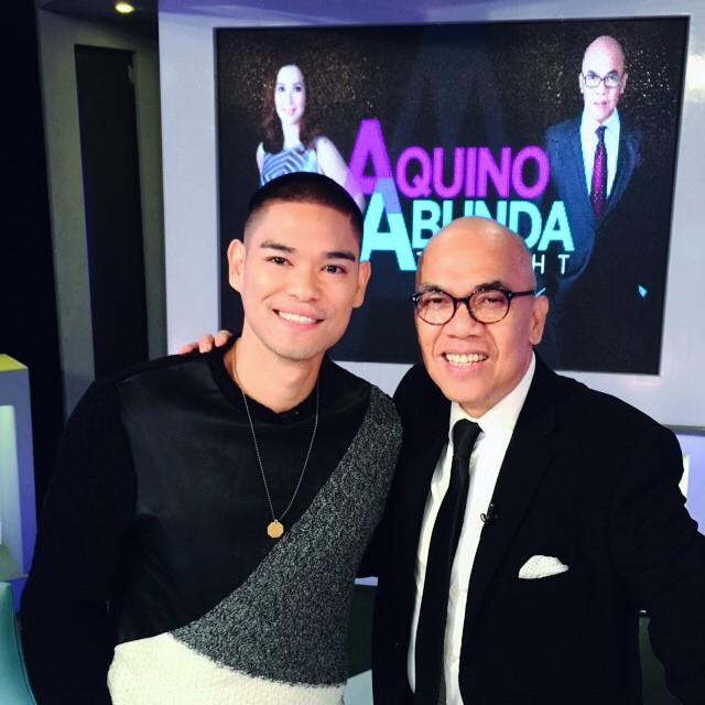 PHOTOS: RnB King Jay-R on Aquino & Abunda Tonight