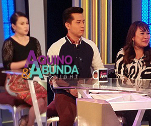 #VoicePH Coach Lea Salonga plus Team Lea's Leah Patricio and Team Sarah's Jason Dy on Aquino & Abunda Tonight