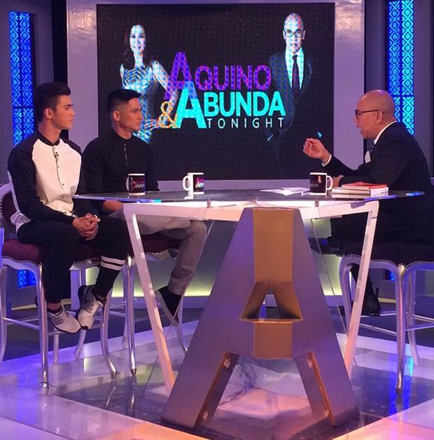 PHOTOS: Piolo & son Iñigo in their first ever sit down interview on Aquino & Abunda Tonight