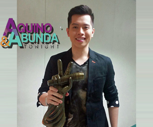 PHOTOS: #VoicePH Season 2 Grand Winner Jason Dy on Aquino & Abunda Tonight