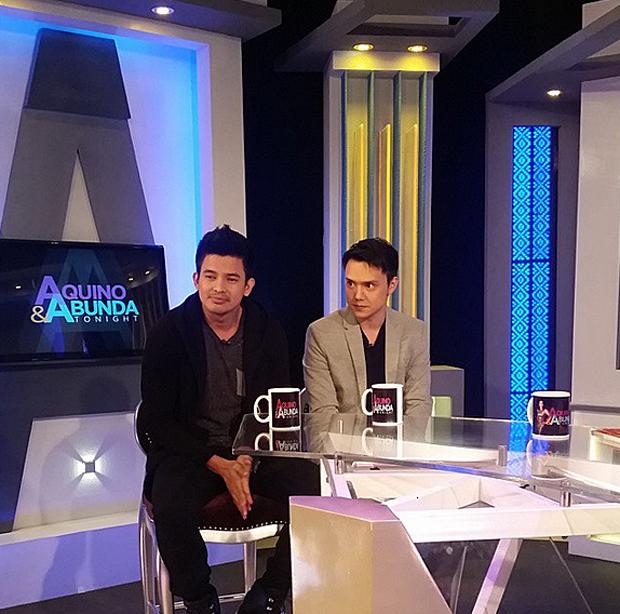 PHOTOS: Jason Abalos and Patrick Garcia on Aquino & Abunda Tonight
