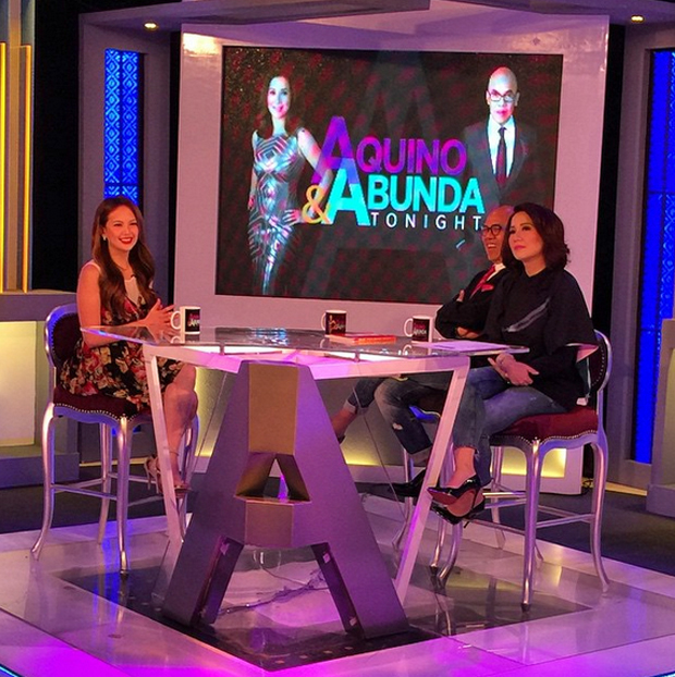 PHOTOS: Sexy Ellen Adarna on Aquino & Abunda Tonight