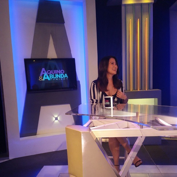 PHOTOS: Lovely Antoinette Taus on Aquino & Abunda Tonight