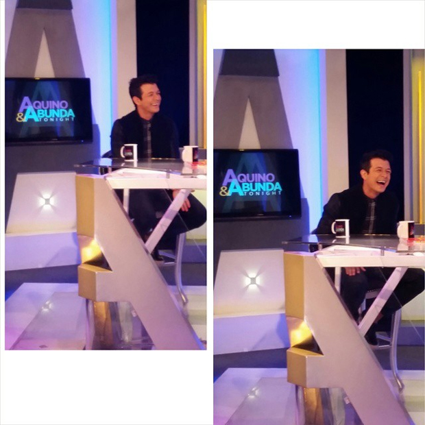 PHOTOS: Jericho Rosales on Aquino & Abunda Tonight