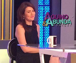 PHOTOS: Carmina Villarroel on Aquino & Abunda Tonight