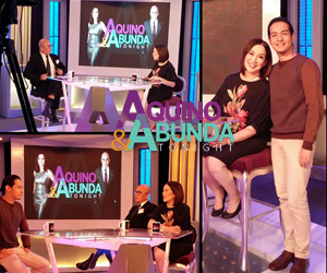 PHOTOS: Hero Angeles on Aquino & Abunda Tonight