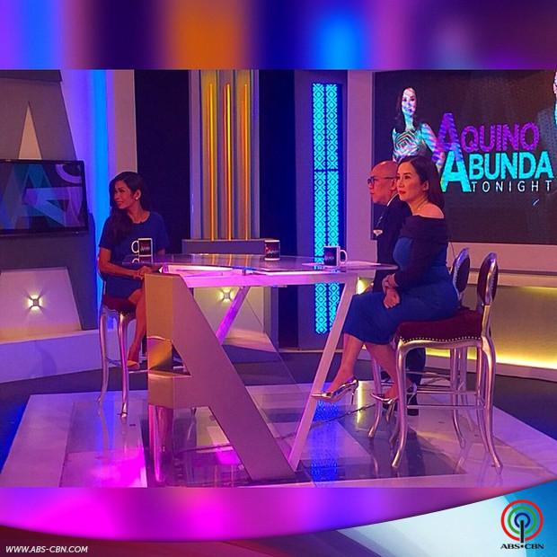 PHOTOS: Bubbly Pokwang on Aquino & Abunda Tonight