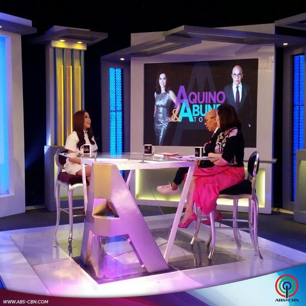 PHOTOS: The bubbly Jolina Magdangal on Aquino & Abunda Tonight