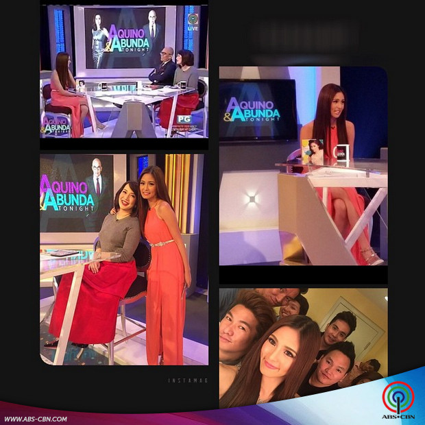 PHOTOS: Kim and Andi on Aquino & Abunda Tonight