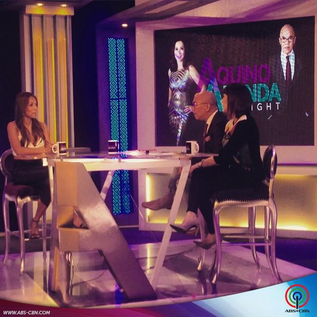 PHOTOS: Hot babe Aubrey Miles on Aquino & Abunda Tonight