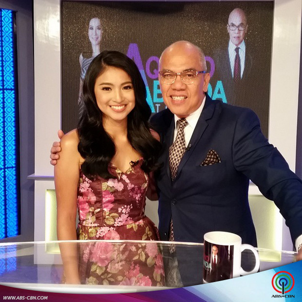 PHOTOS: Pretty Nadine Lustre on Aquino & Abunda Tonight
