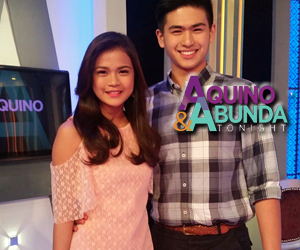 PHOTOS: MarNolo on Aquino & Abunda Tonight