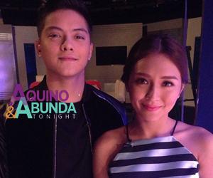 PHOTOS: Teen King & Queen Kathryn and Daniel on Aquino & Abunda Tonight