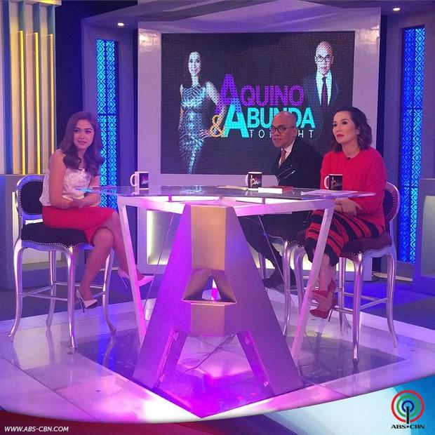 PHOTOS: Stunning Maja Salvador sa Aquino & Abunda Tonight