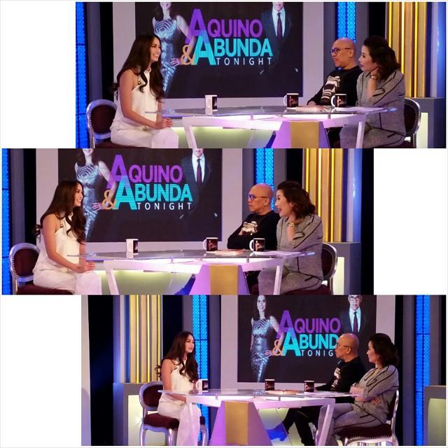 PHOTOS: Arci Munoz on Aquino & Abunda Tonight