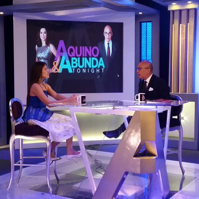 PHOTOS: Your Face Sounds Familiar Grand Winner Melai on Aquino & Abunda Tonight