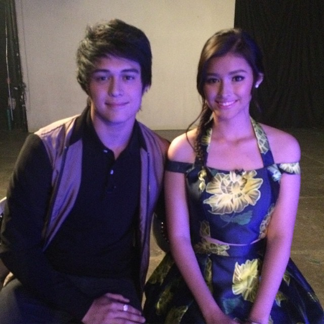 PHOTOS: The King & Queen of Talk with the new box-office royalties Liza and Enrique