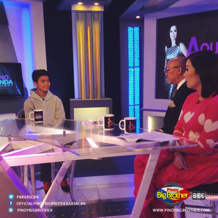 #PBB737 housemates on Aquino & Abunda Tonight