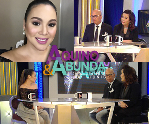 PHOTOS: The beautiful Claudine Barretto on Aquino & Abunda Tonight