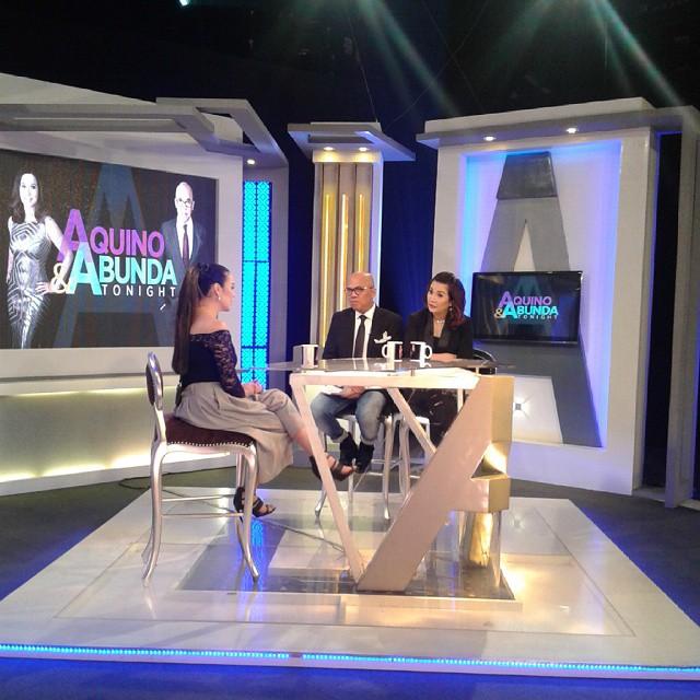 PHOTOS: The beautiful Claudine Barretto on Aquino & Abunda Tonight