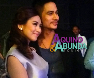 BEHIND-THE-SCENES: Piolo and Sarah's guesting on Aquino & Abunda Tonight