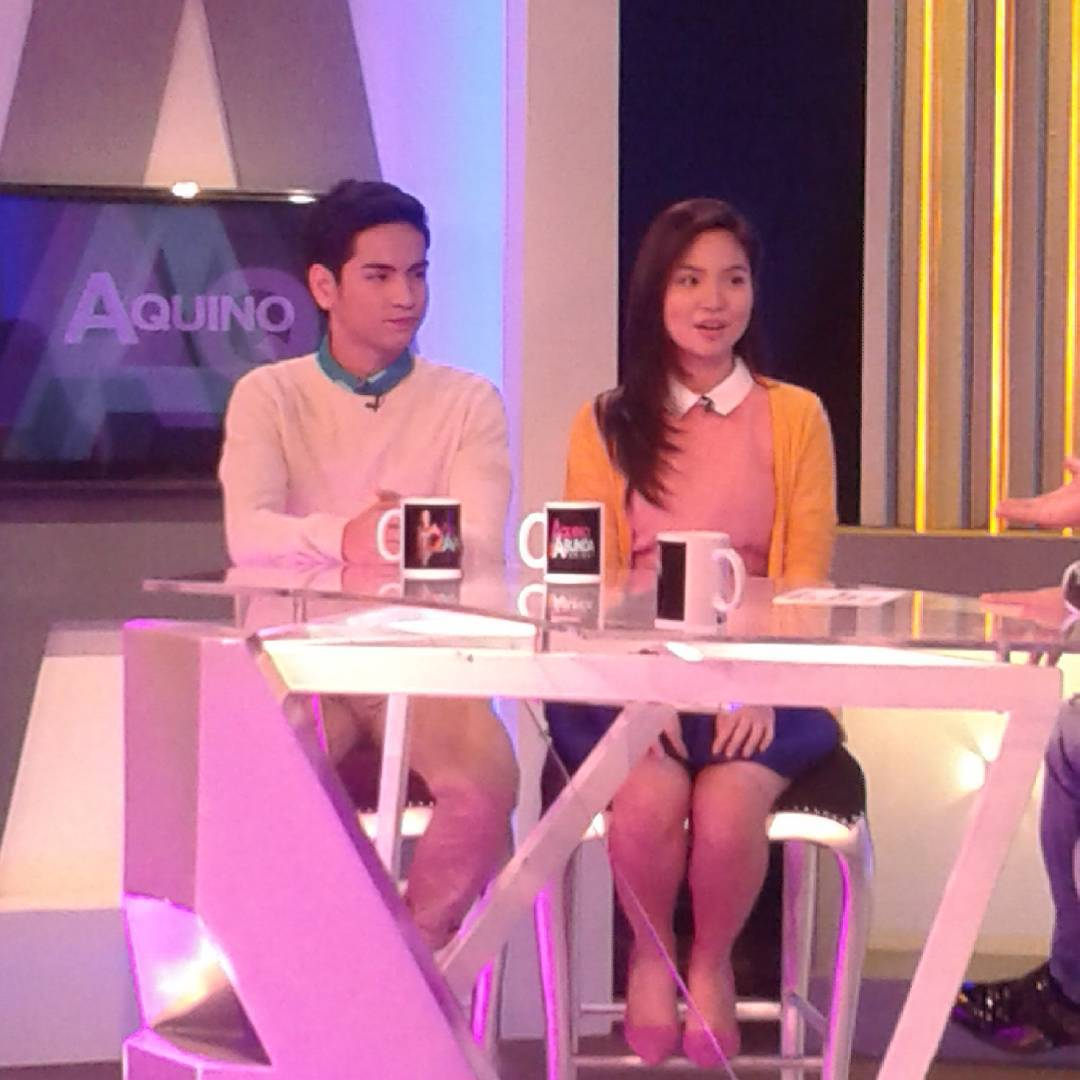 PHOTOS: JaiLene on Aquino & Abunda Tonight