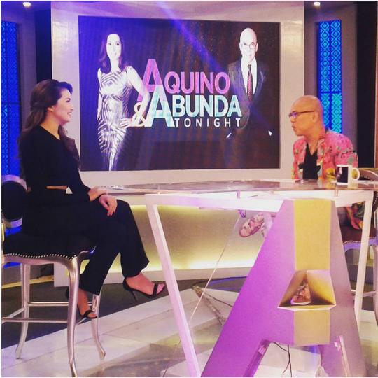Gorgeous Mama Sarah Lahbati on Aquino & Abunda Tonight