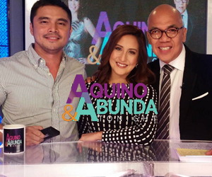 PHOTOS: Jessy Cheena Crab Meg Kim Yen Marvin Jolina on Aquino  Abunda Tonight