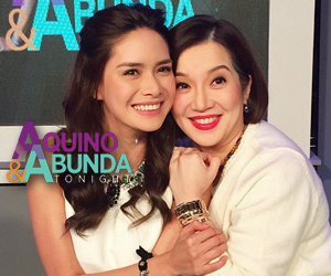 PHOTOS: Erich in stunning OOTN for Aquino  Abunda Tonight