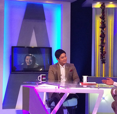 Aquino & Abunda Tonight with Coco Martin