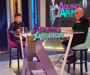 PHOTOS: Charice on Aquino  Abunda Tonight