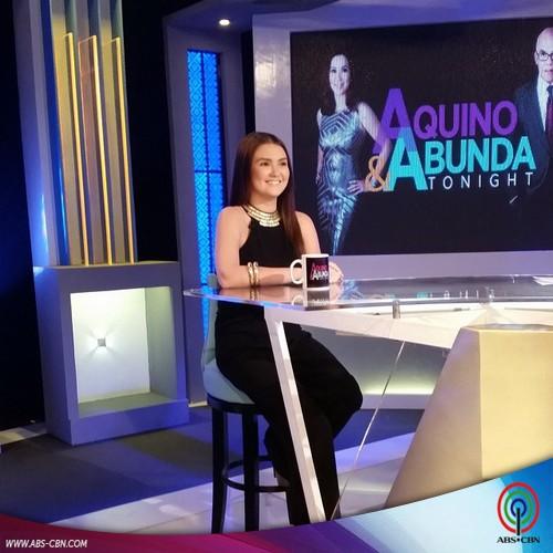 Aquino & Abunda Tonight with Angelica Panganiban