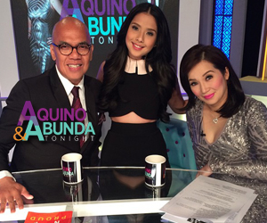 Aquino & Abunda Tonight with Maxene Magalona