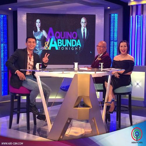 Aquino & Abunda Tonight with Ejay Falcon