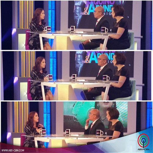 Aquino & Abunda Tonight with Jolina Magdangal