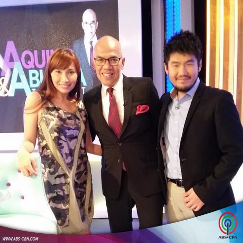 Aquino & Abunda Tonight with I Do grand winners Jimmy and Kring