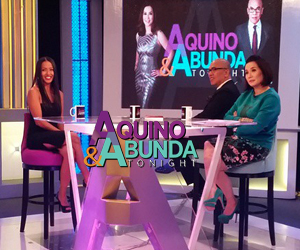 Angela Velez on Aquino & Abunda Tonight