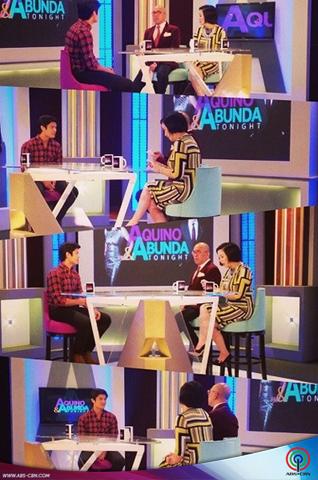 Aquino & Abunda Tonight with JC De Vera