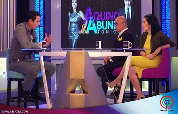 Aquino & Abunda Tonight with John Estrada