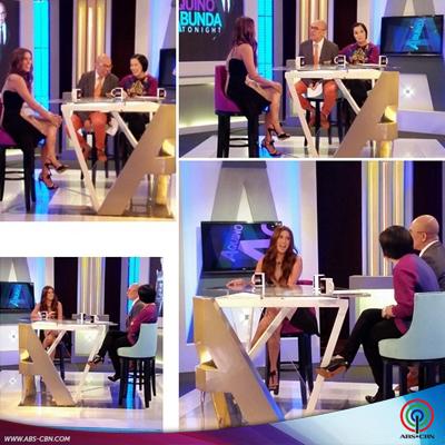 Aquino & Abunda Tonight with Nikki Gil