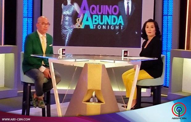 Aquino & Abunda Tonight with Piolo Pascual