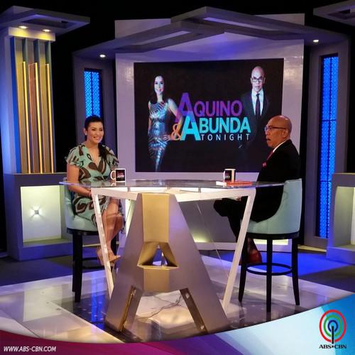 Aquino & Abunda Tonight with Assunta de Rossi