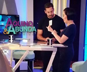 Aquino & Abunda Tonight with David Blaine