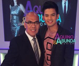 Aquino & Abunda Tonight with Jason Abalos